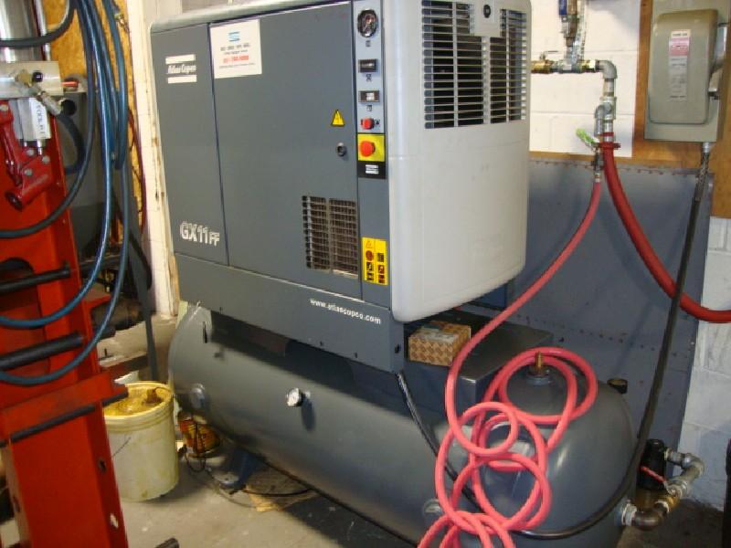 Air Compressors Atlas Copco Gx11ff 15hp Rotary Screw Air